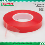 Película burocrática/roja del animal doméstico de la cinta Sh338 de Somi del animal doméstico para la tarjeta de acrílico de interior y al aire libre