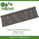 Lo strato d'acciaio del tetto con la pietra ha ricoperto (tipo dell'assicella)
