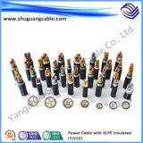 De vuurvaste Vuurvaste Kabel van de Macht van de Schede van pvc van de Isolatie XLPE