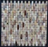 Mosaico de pedra para a parede Fysm094 do material de construção da casa