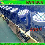 UV6in1 LED Summen-Wäsche-bewegliches Hauptlicht DJ-36X18W RGBWA