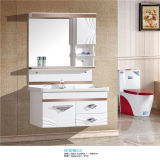 Side Cabinetの高品質PVC Wall Mounted Bathroom Vanity