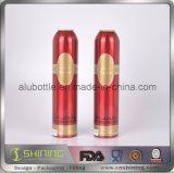 Алюминиевая косметическая бутылка аэрозоля