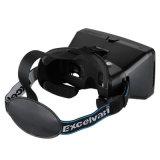 Video Kopfhörer Vr allgemeinhinkasten der Glas-3D für intelligentes Telefon