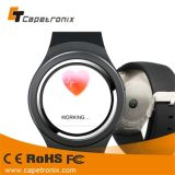 WiFi und 3G intelligentes UhrK21 Android 4.4 OS Smartwatch mit Webcam-intelligenter Uhr K8 der Pixel-360*360
