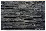 Il nero con la decorazione di pietra di marmo bianca delle mattonelle di /Cutural /Marble