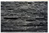 Чернота с белым мраморный украшением плиток /Cutural каменным /Marble