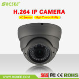 Câmera do IP da câmera 1080P da abóbada do sistema 2.0MP IR do CCTV