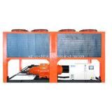 luftgekühlte Wasser-Kühler der Schrauben-104kw für zentrale Klimaanlage