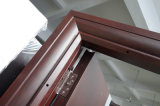 深い浮彫りになる鋼鉄機密保護のドア