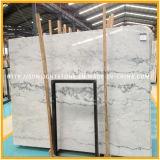 Естественные плитки настила Китая дешево Polished белые мраморный каменные