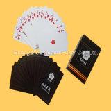 карточки черной гильзовой бумага 330GSM играя для казина