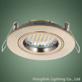 Aluminio Downlight empotrado de latón antiguo fundido y GU10 Titular / lámpara MR16