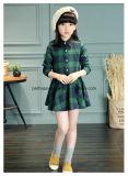 Desgaste encantador das crianças do vestido da blusa da Longo-Luva da alta qualidade