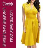 Платье способа партии офиса женщины (L36102)