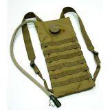 Anbison-Sport militärischer taktischer Molle 2.5L Hydratation-Wasser-Rucksack