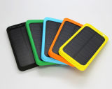 Batería portable solar impermeable 5000mAh para el teléfono móvil