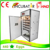 Hhdの工場は500個の卵の工場供給の承認されるフルオートマチックの鶏の定温器のセリウムを供給する