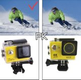 30meter câmera impermeável subaquática da ação do Gopro-Estilo 4k Ultra-HD
