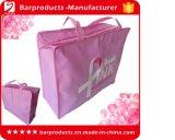 Kundenspezifischer faltbarer Tote-Einkaufen-Gepäck-Beutel mit Reißverschlüssen