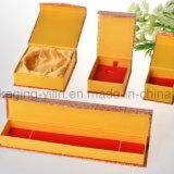 Подгонянная коробка Jewellery коробки бумажных ювелирных изделий упаковывая