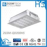 200W Zgsm LED luminaria de dosel precio con Lumileds 3030