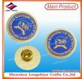 Plata de la divisa del Pin de metal de la abeja y divisa dura del esmalte