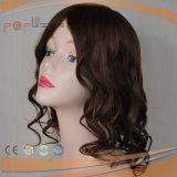 Hairpiece человеческих волос полной связанный рукой курчавый