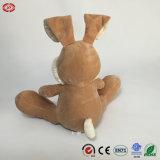 O coelho macio de assento enorme do brinquedo do coelho de Easter do luxuoso animal caçoa o presente