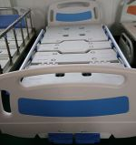 (A-48) Movable Doppeltes-Function Manual Hospital Bed mit ISO9001, ISO13485, CER