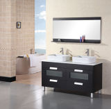 Bathroom Cabinet BS-81のためのMDF Double Sanitaryware Vanity
