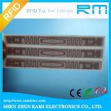 Contrassegno passivo dell'autoadesivo della modifica della lunga autonomia di frequenza ultraelevata di RFID per gestione di patrimonio