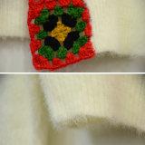 Les femmes façonnent le vêtement Lace-up de cardigan de crochet