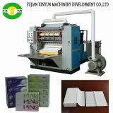 4 linha máquina automática de dobramento do tecido da face da máquina do tecido facial