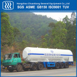 Do gás líquido do transporte do petroleiro do oxigênio do hidrogênio reboque Semi