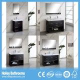 Компактная ходкая классицистическая мебель ванной комнаты твердой древесины (BV135W)