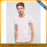 T-shirt neuf fait sur commande de piste de Mens de coton de modèle