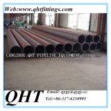 Q235B cédula 40 de Carbono Negro Ronda LSAW soldado de tubos de acero Negro