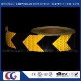 トラック(C3500-AW)のための反射テープに警告する黄色および黒いPVC危険