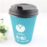 Tazas de café de papel disponibles impresas insignia barata