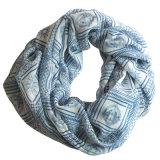 Frauen-Form-Apollo gedruckter Polyester-Chiffon- Unbegrenztheits-Schal (YKY1107)