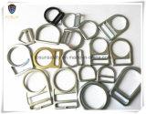 Anillos en D del metal de los accesorios del harness de seguridad (H219D)