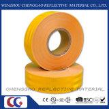 Лента желтой ясности ранга диаманта отражательная для движения (CG5700-OY)