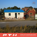 Luxuxstahlkonstruktion-Landhaus-Bauvorhaben für Verwaltungs-Gebäude