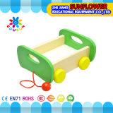 La mesa de madera de los niños juega el rompecabezas de madera de desarrollo de los bloques huecos de los juguetes (XYH-JMM10007)
