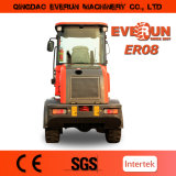 mit Barrel Clamp Everun Brand Cer Approved 0.8ton Wheel Loader