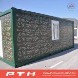 軍隊のカムフラージュのためのカスタマイズされたプレハブの容器の家