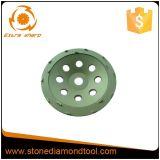PCD utiliza ferramentas a roda de moedura do copo do diamante para a remoção do revestimento