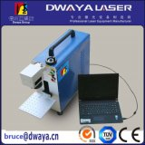 携帯用10W Metal FiberレーザーEngraving Marking Machine