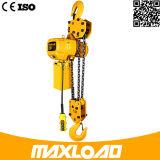 1 Ton polipasto eléctrico de cadena con gancho fijo Tipo (HHBB01-01SF)